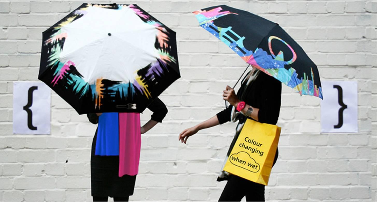 0de8a3db5a Paraguas divertidos y originales. Cuentan con 8 diseños de paraguas  diferentes y venden en 12 países. Colaboran con la Tate, el MOMA y la  Biblioteca ...