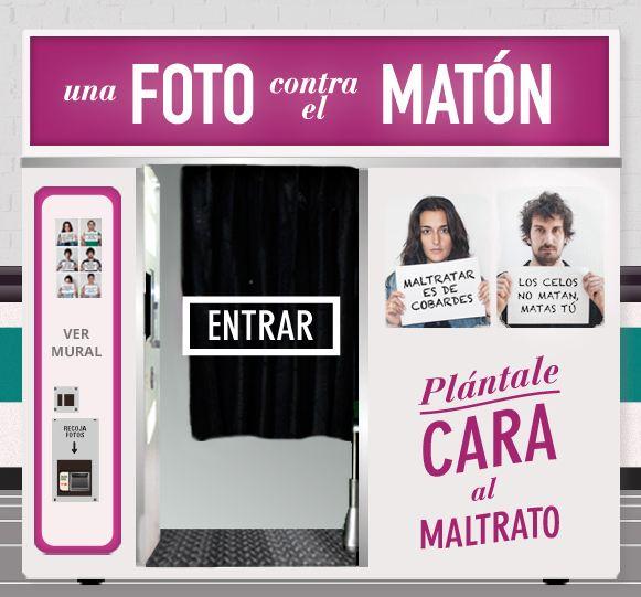 Imagen de la campaña Una foto contra el matón