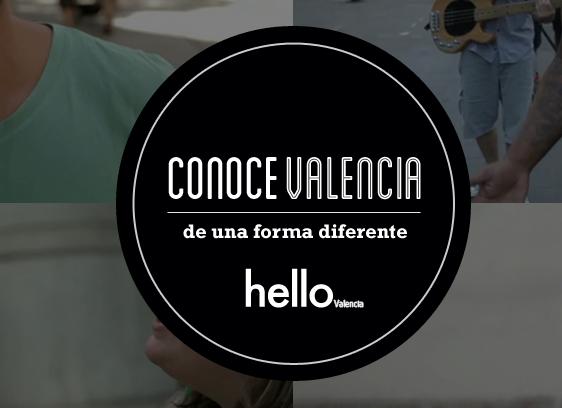 """Imagen de la campaña """"Conoce Valencia de una forma diferente"""""""