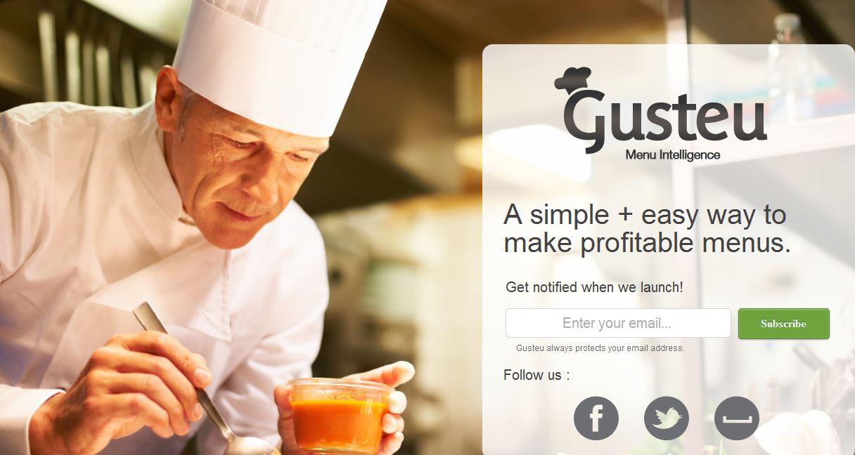 Portada de la web Gusteu.com
