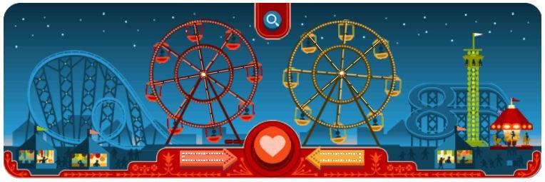 Doodle del Día de San Valentín