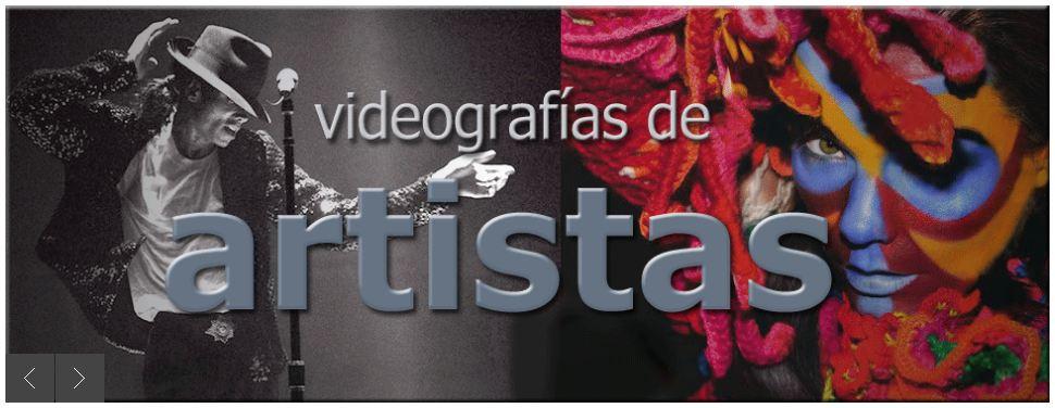 videoclips de artistas en videoclipia