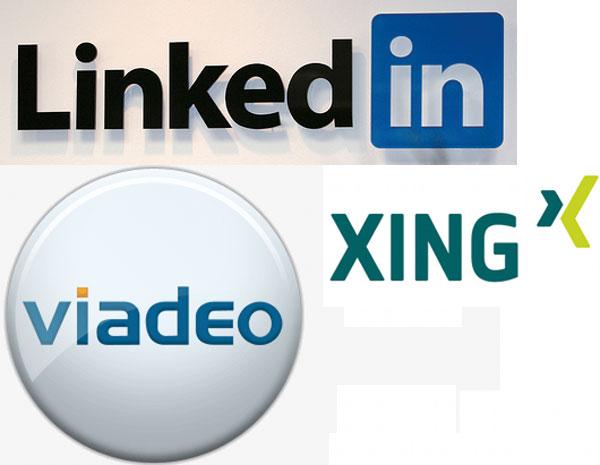 logotipos de redes profesionales