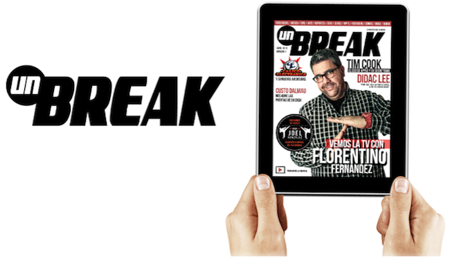 revista unbreak para ipad