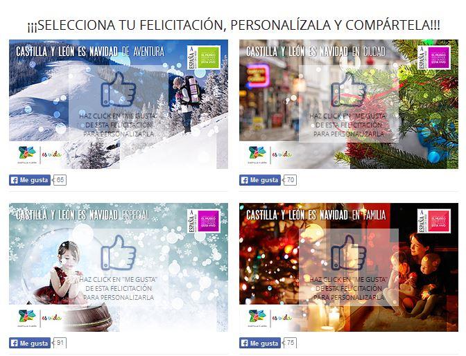 Felicitaciones de Navidad Castilla y León