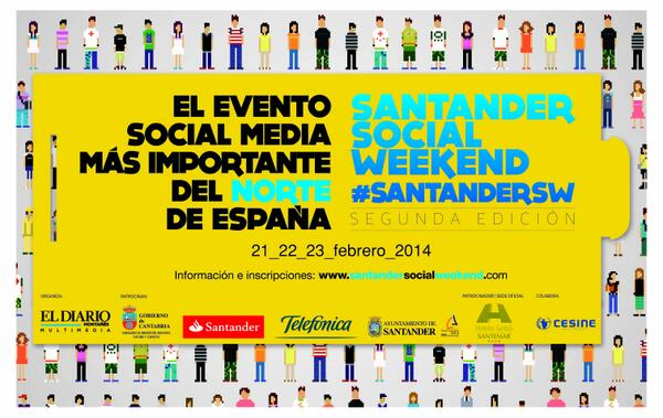 cartel santander social weekend 2014