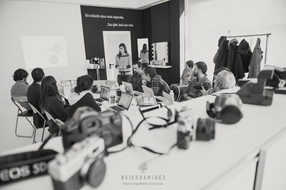 taller para fotografos. Apartado sobre redes sociales y marketing de contenido