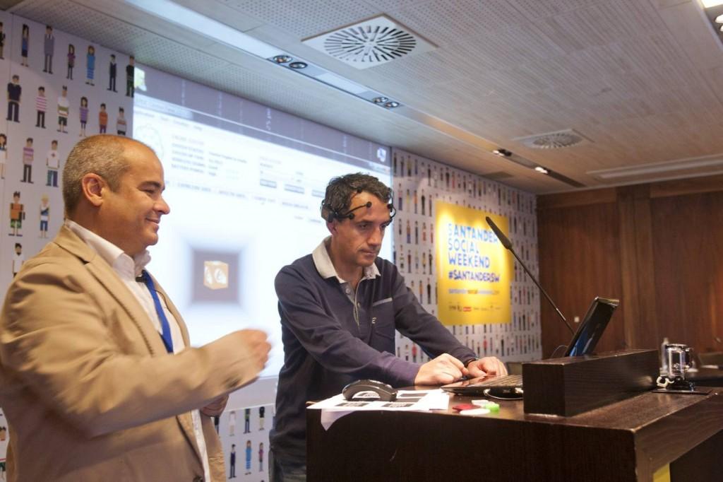 Javier Sirvent y Carlos Fernandez en Santander Social Weekend