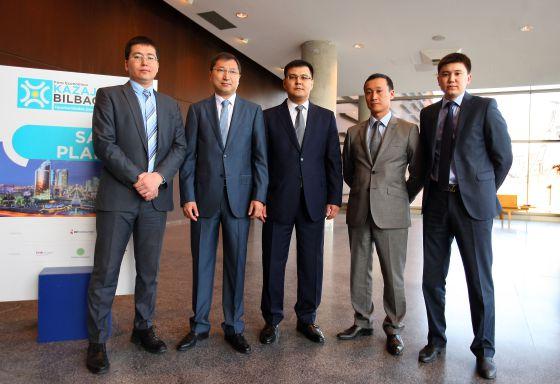 Gobierno ´kazajo en Foro Económico Kazajstan Bilbao