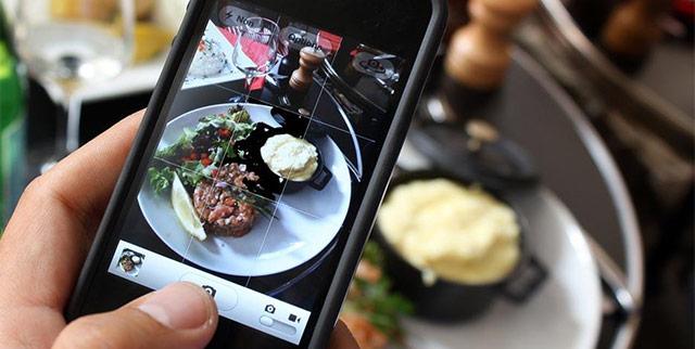 fotografiar comida para Instagram